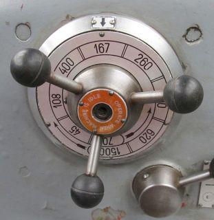 ITALY GRAZIANO 14 x 40 GEARED HEAD GAP BED ENGINE LATHE   #SAG 180