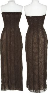 Romeo Juliet Couture Stretch Sequin Smocked Maxi Dress