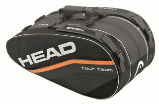 Head Tour Team Series Monstercombi 2012 Tennis Racquet Bag Auth Dealer