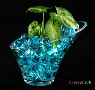 10 Bags Crystal Mud Soil Water Beads Flower Planting House Decorations