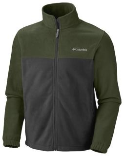 Mountain Fleece Jacket 2 0 LG Large Green Grey New Mens 2012 13