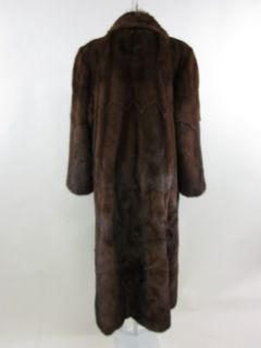 You are bidding on a BERGDORF GOODMAN Mink Fur Long Coat Jacket size