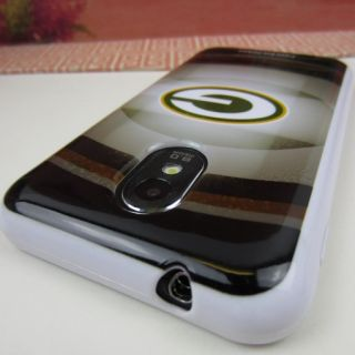 II 2 Epic Touch 4G Rubber Skin Case Cover Green Bay Packers 3