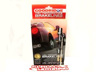 Goodridge Stainless Steel Brake Lines Front Rear Set 90 95 MR2 AW20