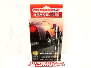 Goodridge Stainless Steel Brake Lines Front Rear Set 90 95 MR2 AW20
