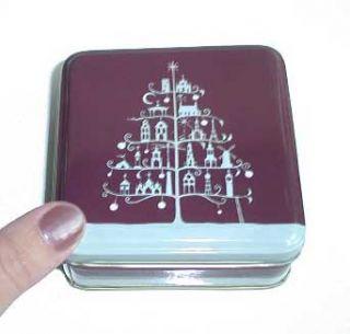 Roger La Borde Christmas Gift Boxes Tins Nested Set of 3 Chocolate