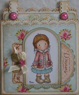 Gretchen Stampavie Penny Johnson Clear Acrylic Art Craft Stamp