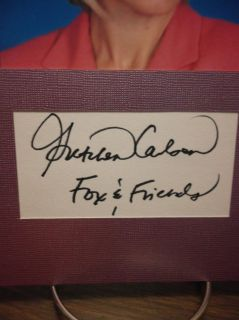 Gretchen Carlson Autograph FOX & FRIENDS Display Signed Signature COA