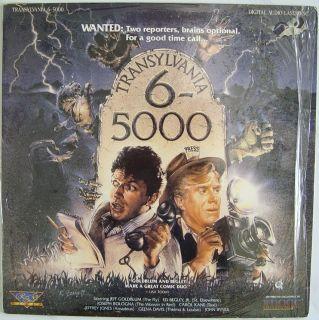 Transylvania 6 5000 Jeff Goldblum Comedy Vampire Thrillers Laserdisc
