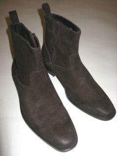 Mens  Gordon Rush Brown Suede Ankle Boots Sz 10 Mint