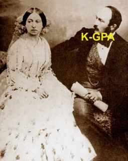 Queen Victoria and Prince Albert Photograph 184
