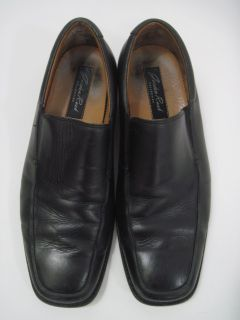 Gordon Rush Mens Black Leather Loafers Dress Shoes 8 5