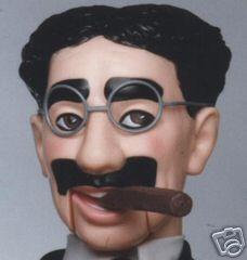 Groucho Marx Ventriloquist Dummy Doll Puppet New