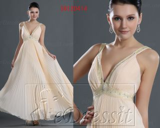 eDressit New 3 4 Lace Sleeve Elegant Formal Prom Ball Gown Evening