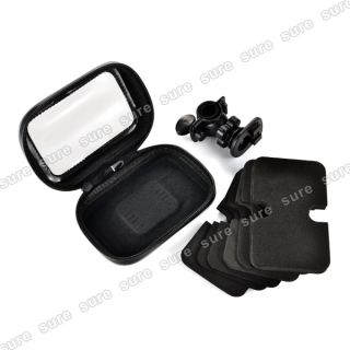 GPS Waterproof Case Mount Holder Motorcycle Bicycle for Samsung Galaxy