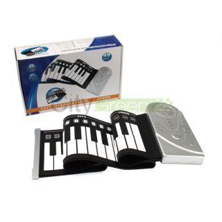 High Quality 49 Keys Rolls Up Soft Electronic Keyboard Piano