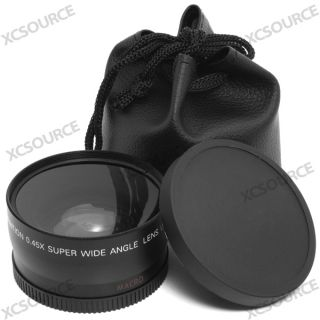 58mm 0 45X Macro Wide Angle Lens for Canon EOS 1000D 500D 450D 350D