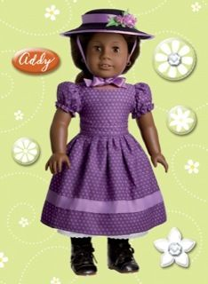 American Girl Crafs Addy Walker Doll Bubble Sickers
