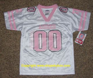 New Texas A M Aggies Girls White Football Jersey Youth Large