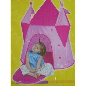 Dream House Princess Play Structure Tent pink castle girls pretend