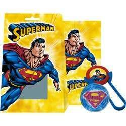 Superman Birthday Party Favors Filled Goody Box