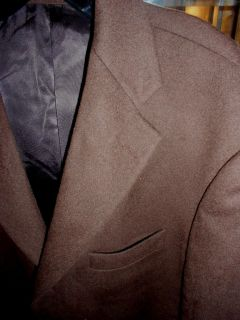 Arnold Brant 100% Camel Sports Jacket/Blazer, Size 42R, Brownish Green