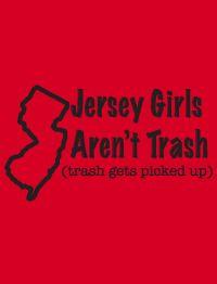 Jersey Shore Girls Trashy American Apparel 2001 T Shirt