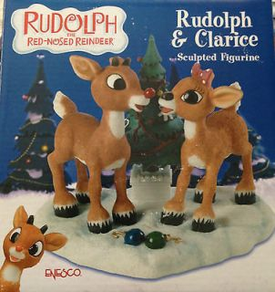 Enesco Rudolph the Red Nosed Reindeer Rudolph and Clarice Hard to