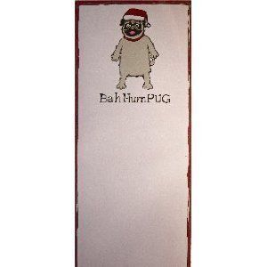 Hum Pug Magnetic Notepad Grocery List To Do Great Gift 4 Dog Lovers