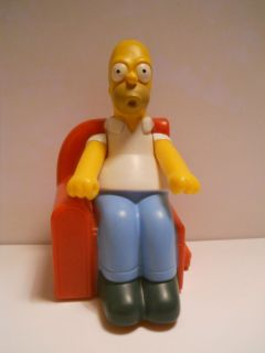 Simpson 2008 Burger King Couch Toy HTF   The Simpsons   Matt Groening