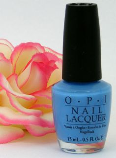 OPI Nail Polish Lacquer Just Groovy Magritte Blue New