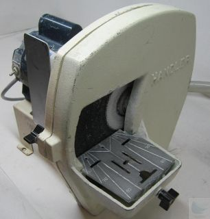 Handler Wet Model 32 Trimmer W/ 12 Wheel & Leeson 1725 RPM 1/2 HP A.C