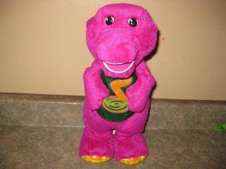 Dino Dance Barney Jumps Dances Sings 14 VGUC