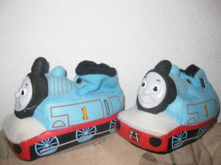 Thomas The Tank Train Toddler Boys Slippers Size 7 8