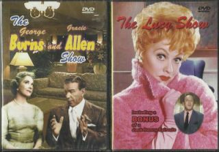 Lucille Ball George Burns Gracie Allen Shows DVD New in Package Free