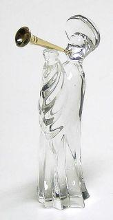 Gorham Crystal Nativity Gorham Angel with Trumpet 68365