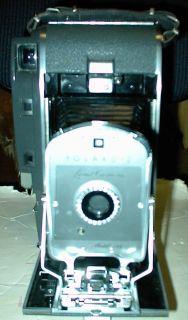Vintage Polaroid Land Camera Model 150 w Case Manuals Accessories
