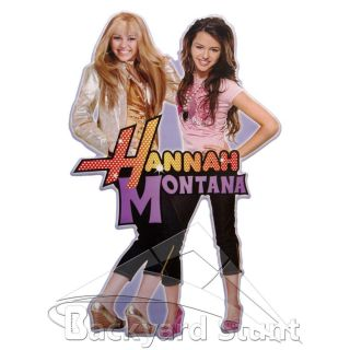 NEW Hannah Montana Wall Sticker Decal Girls Girly Room Pink Decoration