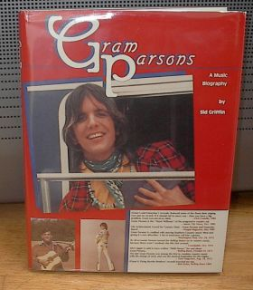 Gram Parsons A Music Biography Sid Griffin 1985 Limited Numbered 500