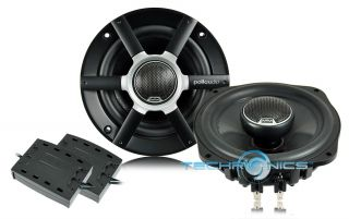WAY 5 1/4 200W MAX MOBILE MONITOR SERIES FULL RANGE CAR SPEAKERS