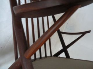 Frank Reenskaug Bramin Mobler Mid Century Danish Modern Rocking Chair