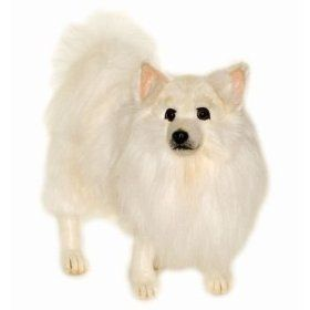 Hansa 18 German Spitz Dog Plush Stuffed Animal Toy