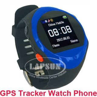 GPS Tracking Watch Unlocked GSM Cell Phone Mobile SOS Button  MP4