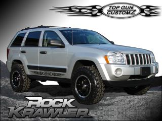 05 09 Jeep Grand Cherokee WK x Factor Lift Kit System