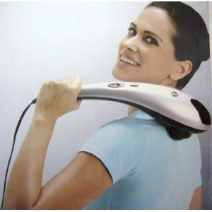 Handheld Full Body Percussion Massager w Infrared Lt