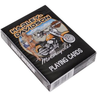 Harley Davidson Pin Up Playing Cards