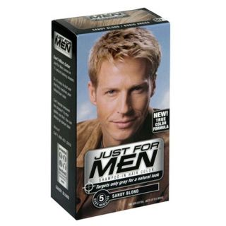 NEW Just for Men Shampoo In Hair Color Sandy Blond 10, 1 application