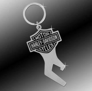Harley Davidson Bottle Opener Key Chain Fob Tag Rings