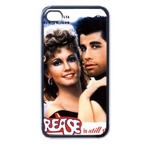 Grease Plastic Case for iPhone 4 4S Black New Gift Idea