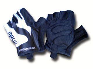 Black White Aerodynamic Summer Cycling Gloves Mitts